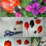 Plastik Kaşıktan Uğurböceği Yapımı Resimli Anlatım