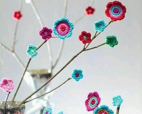 Çiçek Motifleri ile Dekoratif Süs Yapımı
