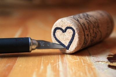 Şişe Mantarı ile Kalpli Damga Yapımı-2