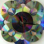 Cd ile Dekoratif Saat Yapımı