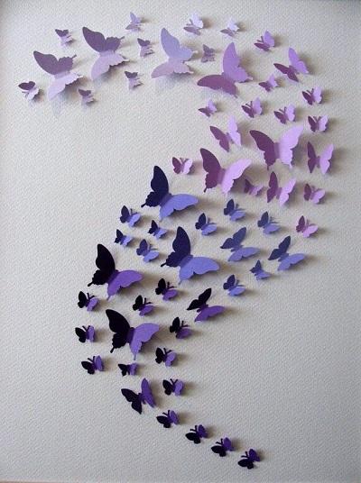 Kelebekli Dekoratif Süs-3