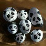 Taş Boyama ile Panda Yapımı