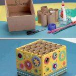 Karton Kutudan Kalemlik Yapımı