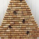 Şişe Mantarından Yılbaşı Ağacı Yapımı