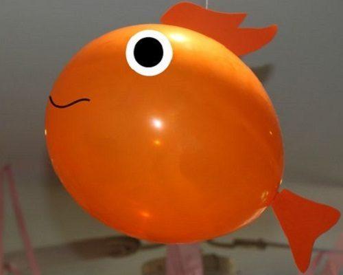 Balondan Balık Yapımı