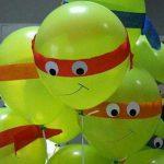 Balonla Ninja Kaplumbağa Yapımı