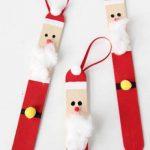 Dondurma Çubuğundan Noel Baba Yapımı