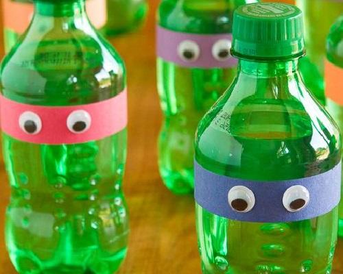 Pet Şişeden Ninja Kaplumbağa Yapımı