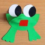 Fon Kartonundan Kurbağa Yapımı