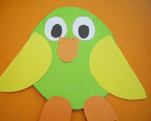 Kağıt Katlama Baykuş Yapımı