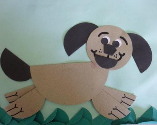 Kağıt Katlama Köpek Yapımı