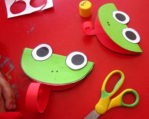 Kağıt Katlama Kurbağa Yapımı