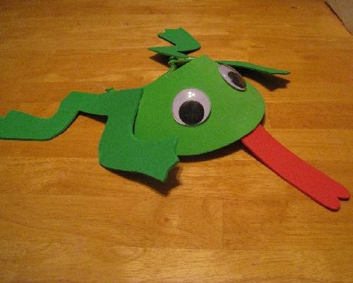 Okul Öncesi Kurbağa Yapımı