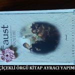 Çiçekli Örgü Kitap Ayracı Yapımı