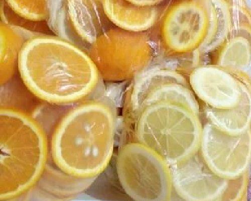Dondurucuda Portakal ve Limon Nasıl Saklanır