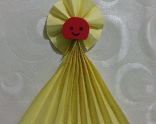 Kağıt Katlama Bebek Yapımı