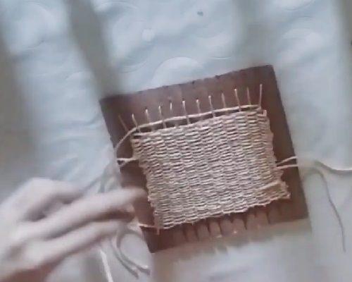 Kartondan Dokuma Tezgahı Yapımı