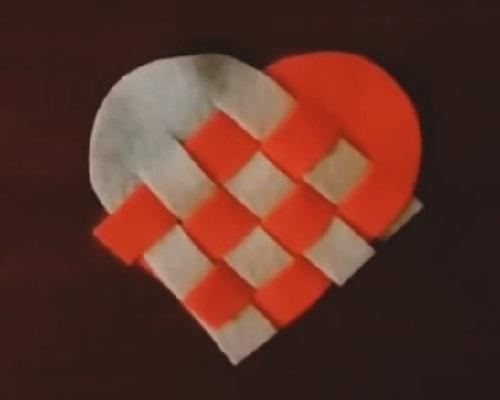 Keçeden Kalpli Bardak Altlığı Nasıl Yapılır