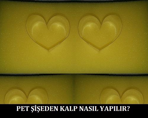Pet Şişeden Kalp Nasıl Yapılır