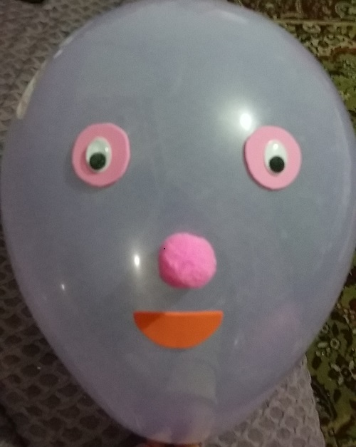 Eva ile Balon Süslemesi-1