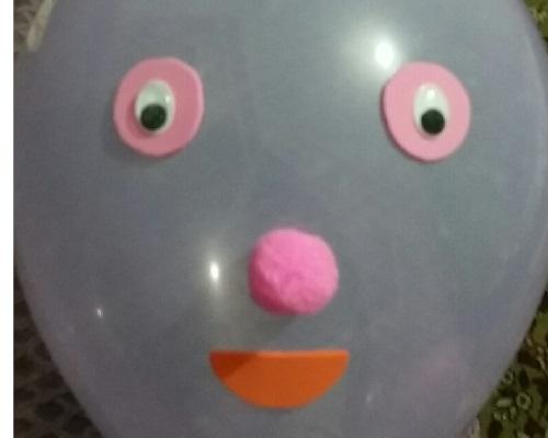 Eva ile Balon Süslemesi