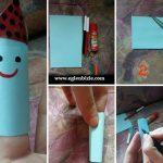 Kağıttan Kolay Parmak Kukla Yapımı