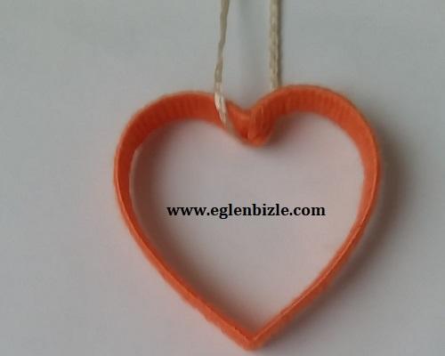 Pet Şişe ve İple Kalpli Süs Yapımı