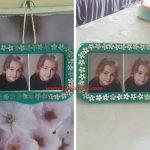 Islak Havlu Kapağı ile Resim Çerçevesi Yapımı