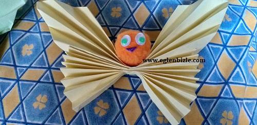 Origami Kelebek Yapımı-1