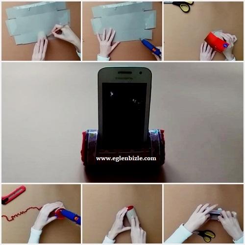 Telefon Standı Yapımı Resimli Anlatım