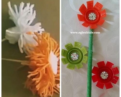 Evde Yapay Çiçek Nasıl Yapılır