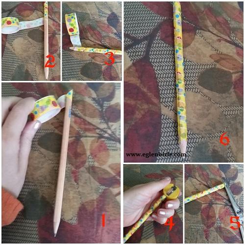 Kalem Süslemesi Resimli Anlatım