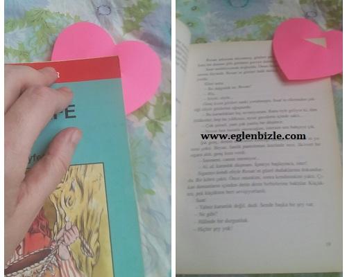A4 Kağıt ile Kitap Ayracı Yapımı