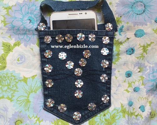 Pantolon Cebinden Telefon Askılığı Yapımı