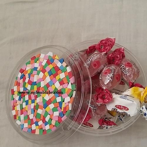 Plastik Kutudan Şekerlik