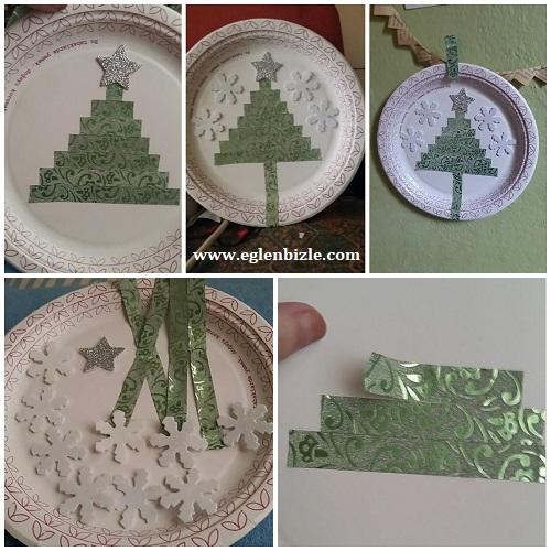 Çam Ağacı Süs Resimli Anlatım