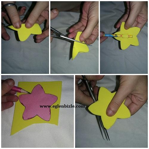 Yıldızlı Kalem Süsü Yapımı Resimli Anlatım-1