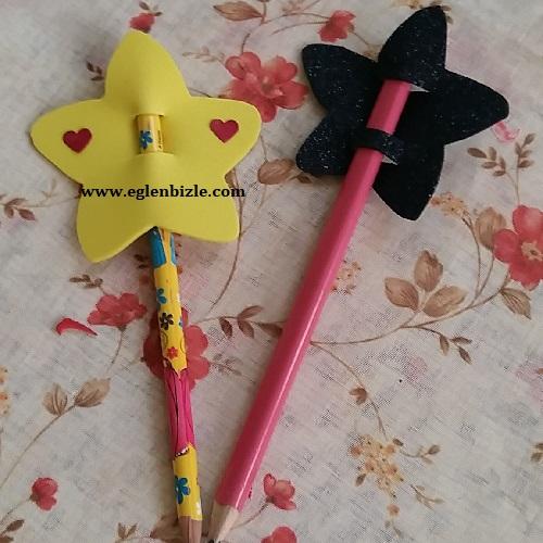 Yıldızlı Kalem Süsü