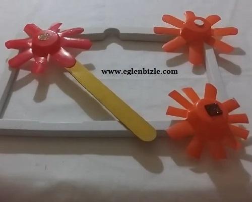 Meyveli Yoğurt Kabı ile Nasıl Çiçek Yapılır