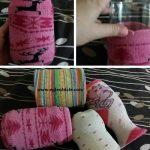 Çorap ile Kaplama Nasıl Yapılır