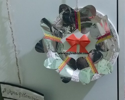 Cips Paketi ile Dekoratif Süs Yapımı
