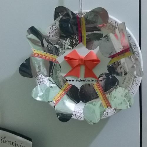 Cips Paketi ile Dekoratif Süs