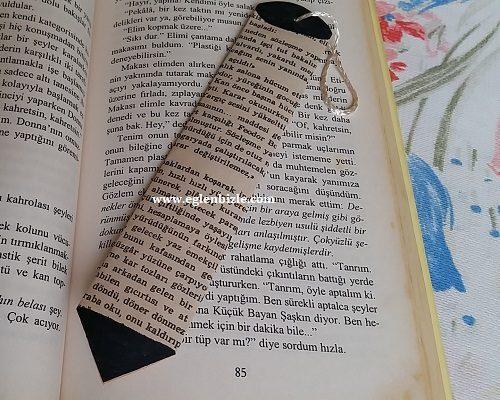 Gazete Kağıdından Kalem Kitap Ayracı Yapımı