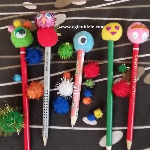 Ponpon Kalem Süsü