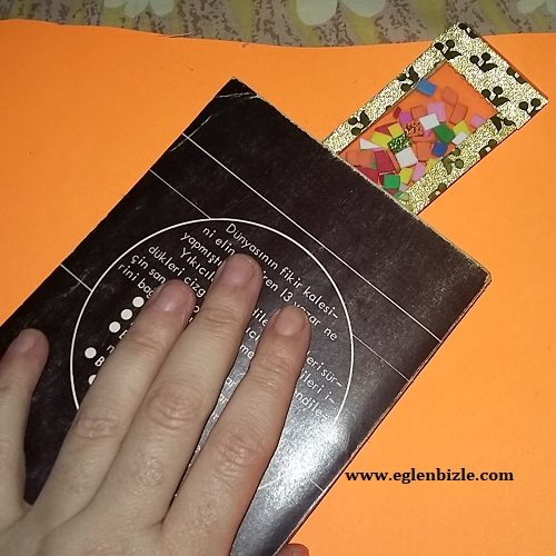 Poşet Dosya ile Cetvel Kitap Ayracı-1