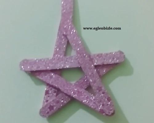 Ahşap Çubuklarla Yıldız Yapımı