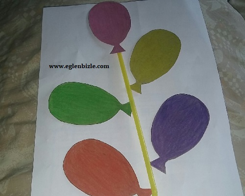 Karton ile Balon Yapımı