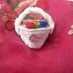 Yumurta Kolisi ile Minyatür Sepet Yapımı
