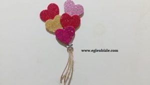 Eva ile Kalpli Magnet Nasıl Yapılır-1