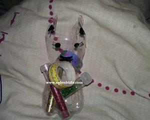 Pet Şişe ile Kedi Yapımı
